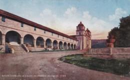 AN49 Santa Barbara Mission, California - Santa Barbara