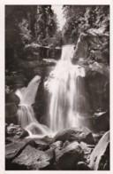AN49 Triberg Im Schwarzwald, Wasserfall - RPPC - Triberg