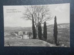 20004) PARMA SALSOMAGGIORE PANORAMA ED HOTEL DES THERMES VIAGGIATA 1907 - Parma