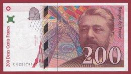 "200 Francs ""Eiffel"" 1997 --XF/SUP+---ALPH -S- Numéro -- 022673447 - 1992-2000 Ultima Gama"