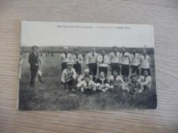 CPA 34 Hérault Olonzac Racing Club Olonzaguais Première équipe Diables Bleus Football - Autres Communes