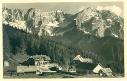 Gostilna Jezerski Vrh In Kamniške Planine, Mejni Prehod, 1930s?, Seebergsattel Mit Steineralpen 1218m Jezersko Slovenija - Slowenien