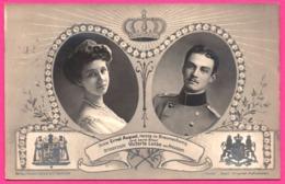 Prinz Ernst August Prinzessin Victoria Luise Von Preussen - Militaire - Edit. GUSTAV LIERSCH Et CO - 1913 - Familias Reales