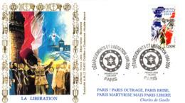 """"""" DE GAULLE : 60 ANS DE LA LIBERATION """" Sur Enveloppe 1er Jour De 2004. N° YT 3675. Parfait état. FDC - De Gaulle (General)"""