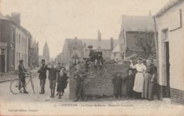 Cousolre ... Top Carte Et Animation - Le Corps De Garde - Douanes Françaises -1912 ( Voir Verso ) - Other Municipalities
