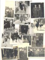 LIEGE - Lot De 14 Photos ( +/- 5,5 X 8,5 Cm) Photo Trottoir,...1934,42,43,45,46 Et 49 (b264) - Lieux