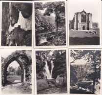 AQ67 Souvenir Folder With 12 Snapshots Of Bolton Abbey - Places