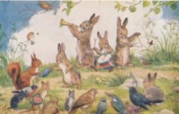 AS96 Margaret Tarrant - Wandering Minstrels - Birds, Rabbits, Squirrel - Autres Illustrateurs