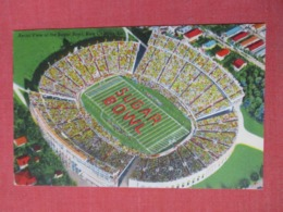 Aerial View Sugar Bowl New Orleans La.       -ref 3669 - Postcards