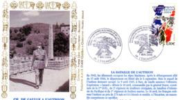 """"""" 60 ANS DE LA LIBERATION / CHARLES DE GAULLE """" Sur Enveloppe Commémorative De 2004. N° YT 3675. Parfait état. FDC - De Gaulle (General)"""