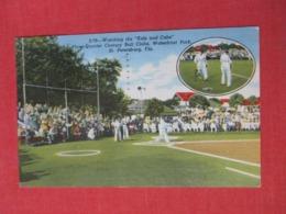 Kids & Cubs  Base Ball St Petersburg Fl       -ref 3669 - Postcards