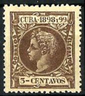 Cuba Española Nº 161 En Nuevo - Kuba (1874-1898)