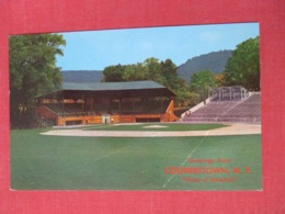 Home Of Baseball Cooperstown NY Has Crease      -ref 3669 - Postcards