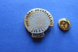 Pin's,escargot,coquille,amonite,Schnecke,900Jahre Oberhallau1995,limité - Pin's