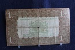 80 / Netherlands 1 Gulden , Zilverbon 1938 /  N° 015534 - [2] 1815-… : Koninkrijk Der Verenigde Nederlanden