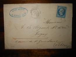 Lettre GC 2239 Marseillan Herault - 1849-1876: Période Classique