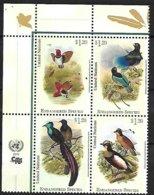 UNO - NEW YORK - 2015 : Birds-of-Paradise - Sperlingsvögel & Singvögel