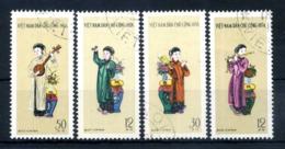 1961 VIETNAM DEL NORD SET USATO 247/250 - Vietnam