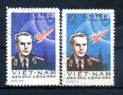1961 VIETNAM DEL NORD SET USATO 243/244 - Vietnam