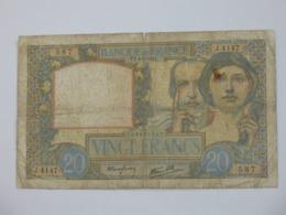 20 Francs SCIENCE ET TRAVAIL - 08-05-1941   **** EN ACHAT IMMEDIAT **** - 1871-1952 Antichi Franchi Circolanti Nel XX Secolo