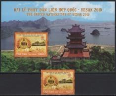 Vietnam (2019) - Set + Block -  /   VESAK - Temples - Monastery - Cultures