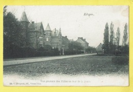 * Edegem - Edeghem (Antwerpen - Anvers) * (G. Bongartz, éd Vieux Dieu, Nr 22) Vue Générale Villas En Face De La Grotte - Edegem
