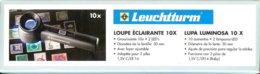 LEUCHTTURM - LOUPE à POSER LU150 Avec LED, Gr.10x - Pinze, Lenti D'ingrandimento E Microscopi