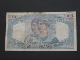 1000 Francs MINERVE ET HERCULE - 25-04-1946   **** EN ACHAT IMMEDIAT **** - 1871-1952 Antichi Franchi Circolanti Nel XX Secolo
