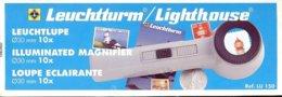 LEUCHTTURM - LOUPE à POSER LU150 (sans LED, Ancien Modèle), Gr.10x - Pinze, Lenti D'ingrandimento E Microscopi