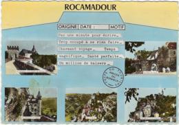 46 Rocamadour Vues Multiples - Rocamadour
