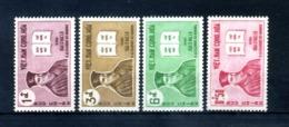 1961 VIETNAM DEL SUD SET MNH ** 173/176 - Vietnam