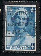 BELGIUM-BELGIQUE OBLITÉRÉ 1935-36 Y&T N°417 - Queen Astrid - Gebruikt