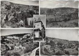 46   Saint Cirq-lapopie Vues Multiples - Saint-Cirq-Lapopie