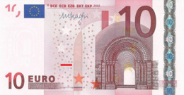 EURO GERMANY 10 X DRAGHI E006 E007 E008 E009 UNC - EURO