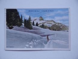 74 MEGEVE L'Aiguille De VARENS Collection Chevillard Haute-Savoie - Megève