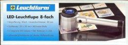 LEUCHTTURM - LOUPE LUMINEUSE à POSER LED, Gr.8x - Pinze, Lenti D'ingrandimento E Microscopi