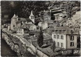 46  Panorama Le Petit Lourdes Oeuvre De M Georges Simonin L'eglise Saint Pierre Le Cachot La Poste Le Presbystere  1858 - France