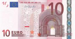 EURO IRELAND 10 T K007 DRAGHI UNC - EURO