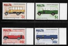 Malta 1996 Buses Transport MNH - Malta