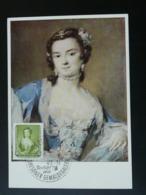 Carte Maximum Card Peinture Painting Rosalba Carriera 1957 DDR (ref 86738) - [6] République Démocratique