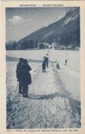 74 CHAMONIX MONT BLANC SPORTS D HIVER PISTE DE LUGE DU SAVOY PALACE  Editeur COUTTET Auguste 60b - Chamonix-Mont-Blanc