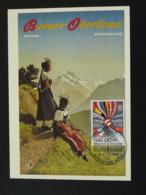 Carte Maximum Card Montagne Mountain Alpes Costume Suisse (ref 94379) - Cartes-Maximum (CM)