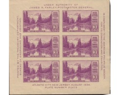 Ref. 615821 * HINGED * - UNITED STATES. 1934. PHILATELIC EXHIBITION . EXPOSICION FILATELICA - Unused Stamps