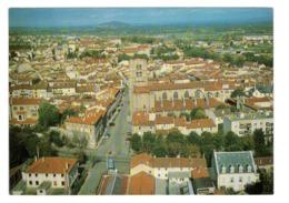 CPM 42 MONTBRISON VUE GENERALE AERIENNE - Montbrison