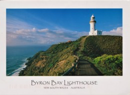 Byron Bay Lighthouse, New South Wales - Posted 2001 With Stamp - Otros