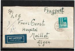 LCTN57/2 - ALLEMAGNE LETTRE DECEMBRE 1951 - Briefe U. Dokumente