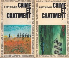 Crime Et Chatiment 1+2 (Dostoievski) - Garnier Flammarion 1965 - Livres, BD, Revues