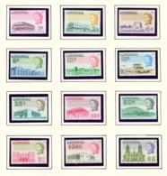 ANTIGUA  -  1969 Definitives Glazed Paper Set Unmounted/Never Hinged Mint - Antigua Et Barbuda (1981-...)