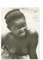 Congo Belge Jeune Femme Congolaise Seins Nus Nu Ethnique - Belgian Congo - Other