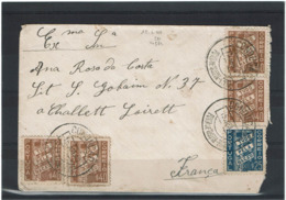 LCTN57/2 - PORTUGAL LETTRE JUIN 1940 - Lettres & Documents